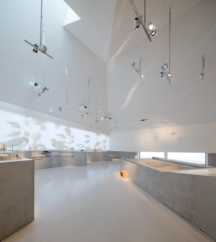 Fade Acoustic Plaster Albus Vadehavscentret