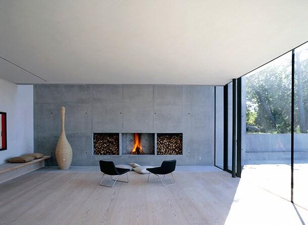 Fade Acoustic Plaster Lithos Villa Ann Sweden