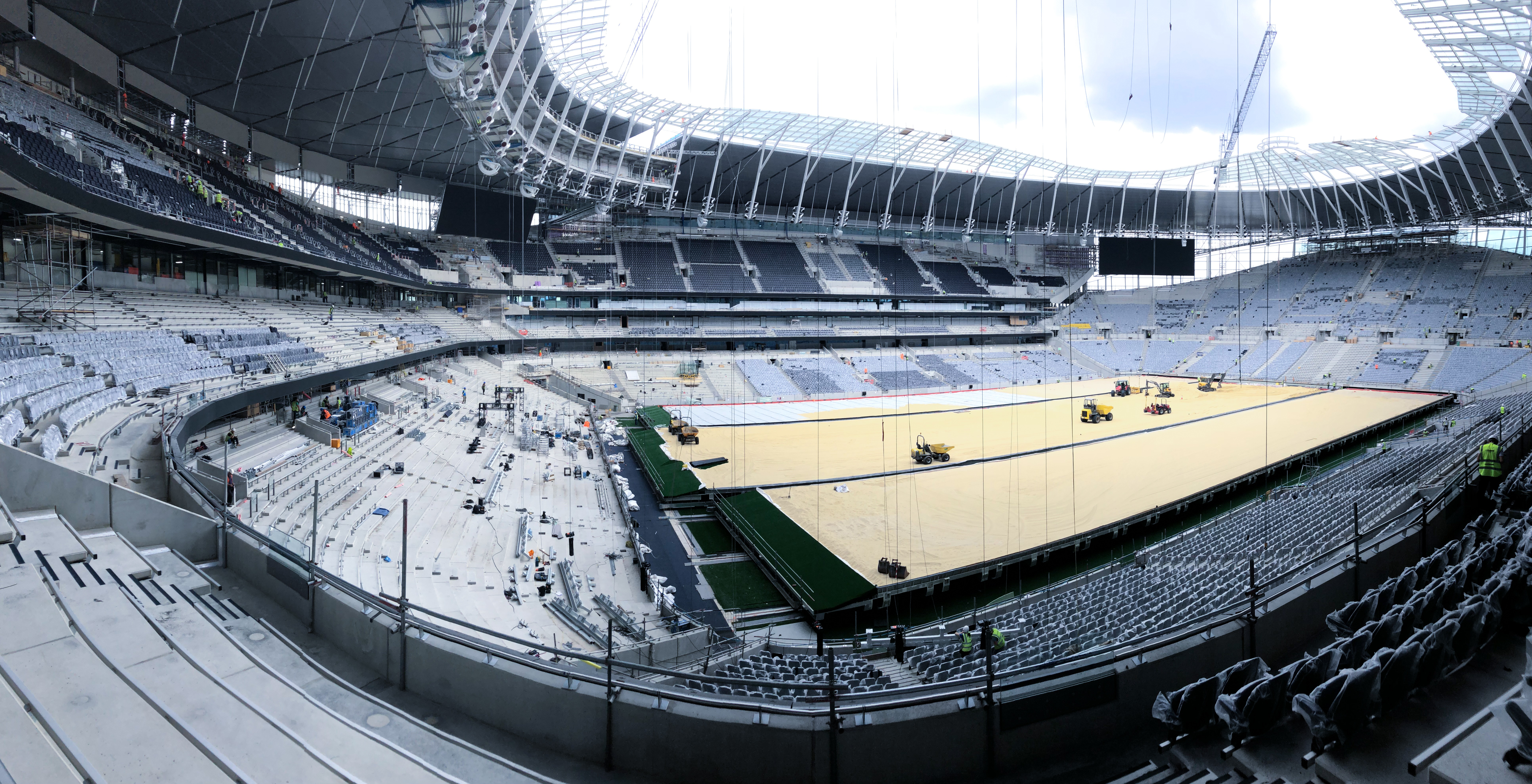 Tottenham Hotspur Stadium London Fade Acoustic Ceilings